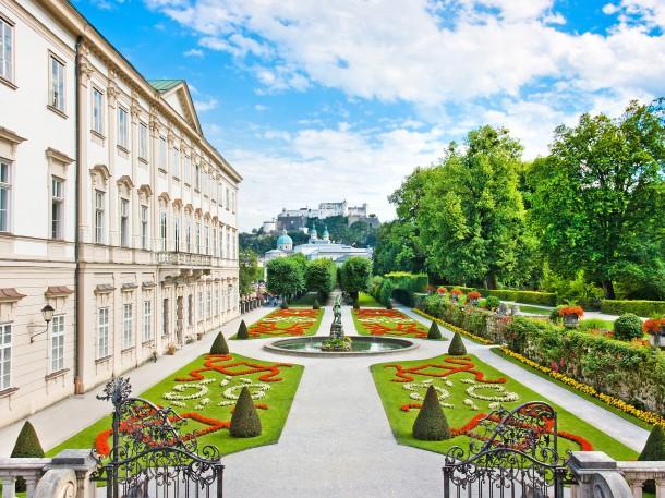 Salzburg Mirabell Garten