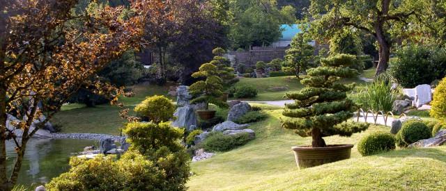 Der Garten des Bonsai Museums, Seeboden, Ö.