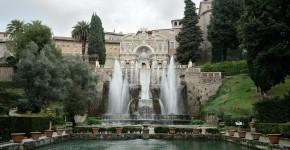 Fontänen im Renaissancegarten