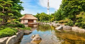 Japanischer Garten Planten un Blomen