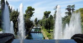 Renaissancegarten, Wasserspiele Villa d´Este, Italien