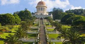Bahai Garten, Haifa, Israel