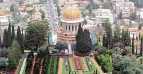 Bahai Tempel und Garten, Haifa, Israel