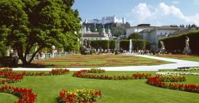 Barockgarten Schloss Mirabell