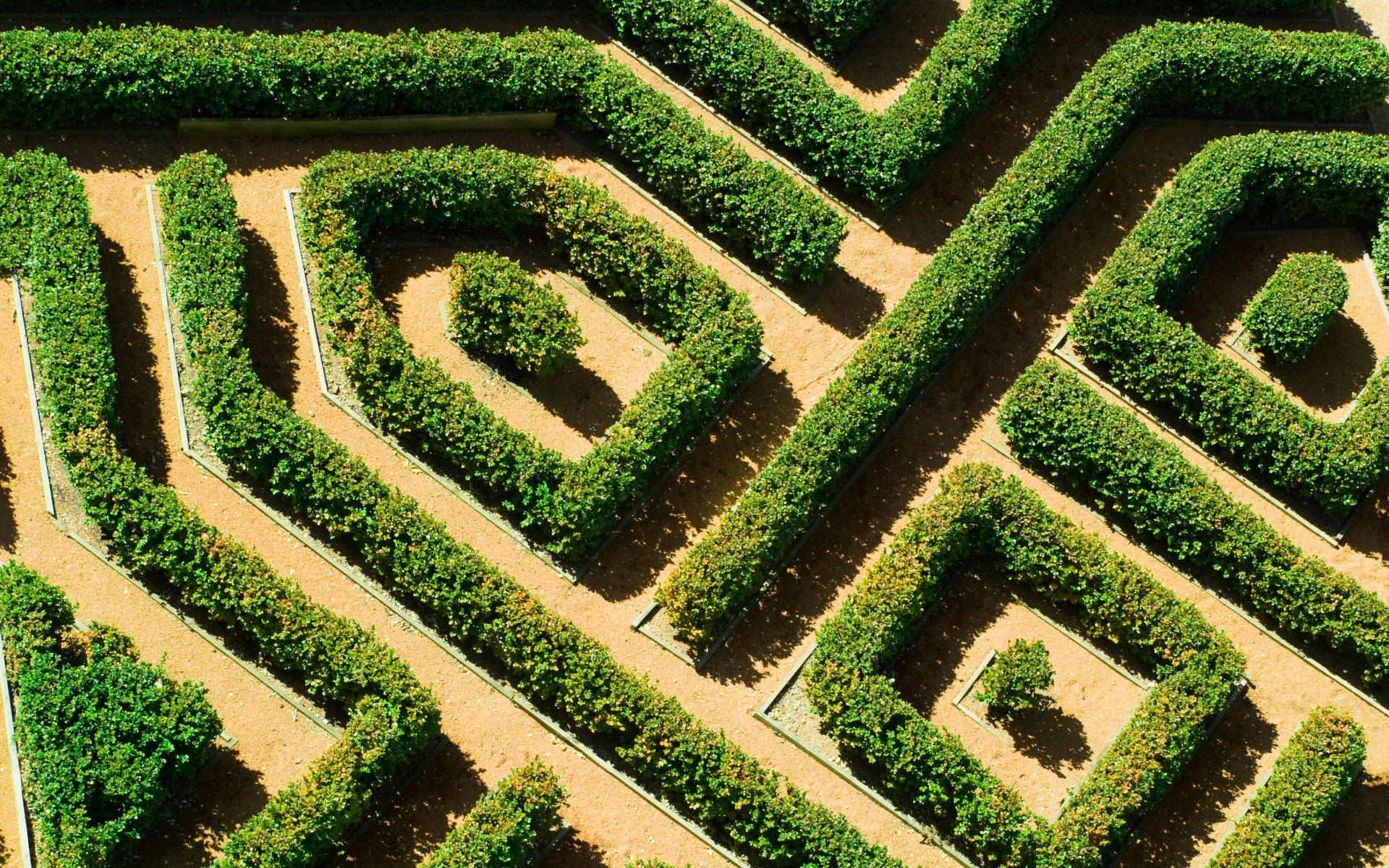 irrgärten - labyrinthe | garten europa, Garten dekoo