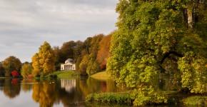 Englichischer Landschaftsgarten Stourhead Garde