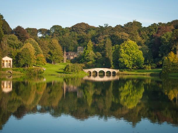 Englischer Landschaftsgarten, Stourhead Park, England