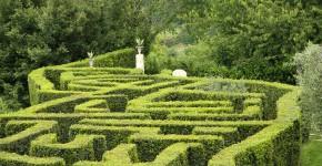 Labyrinth, Sovana, Italien