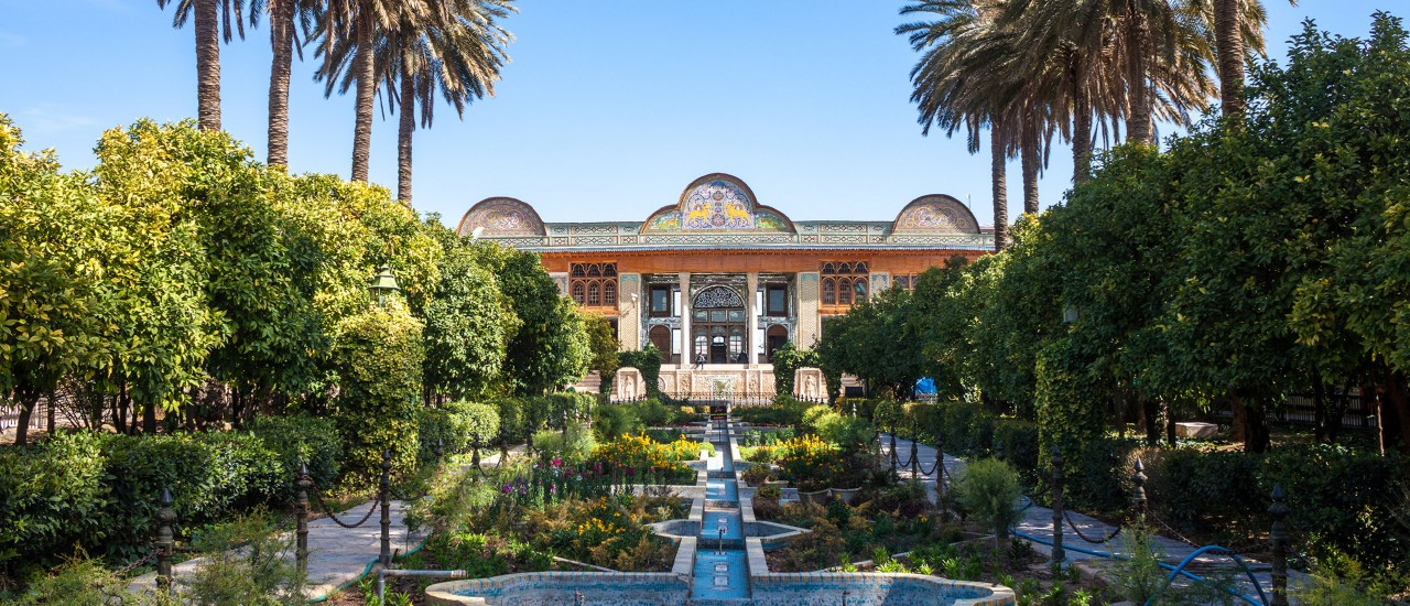 Naranjestan Garten in Shiraz, Iran