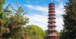 Pagoda tower, Kew Gardens, England