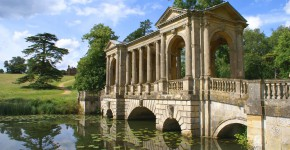 Palladian Bridge, Stowe Gardens, England