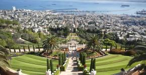 Persischer Garten, Bahai Garten, Israel