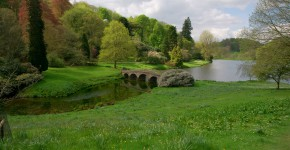 Stourhead Park, Wiltshire, England