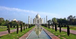 Taj Mahal Tempel und Garten