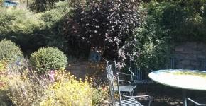 Ein Teil des Gartenwohnzimmers