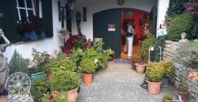 Hängenden Gärten der Sulamith - Eingang und Kräuterladen