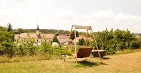Zeit für eine Pause im Schaugarten Arche Noah