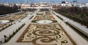 Schlossgarten Schönbrunn, Wien