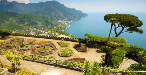 Amalfi Küste, Villa Rufolo, Italien