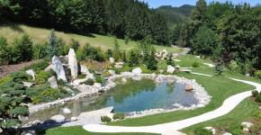 Garten am Millstätter See, Harmonie im Garten