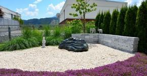 Gartenanlage 2 in Seeboden, Harmonie im Garten