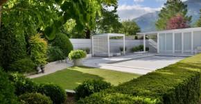 Gartenanlage in Möllbrücke, Harmonie im Garten