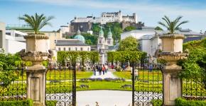 Schloss Mirabell Barockgarten, Salzburg