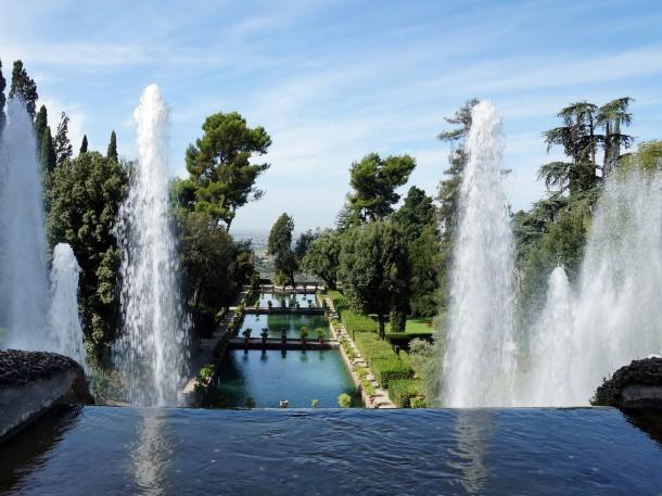Springbrunnenanlage, Villa d´Este