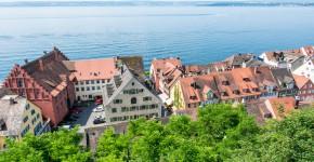 Bodensee, Blick von Schloss Meersburg