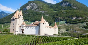 Chateau d'Aigle, Schweiz