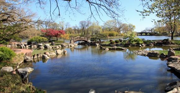 Japanischer Garten, Osaka Japanese Garden, Chicago