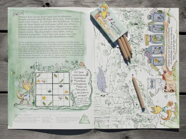 Zauberkraut, Stifte, Paket, (c) Zauberkraut