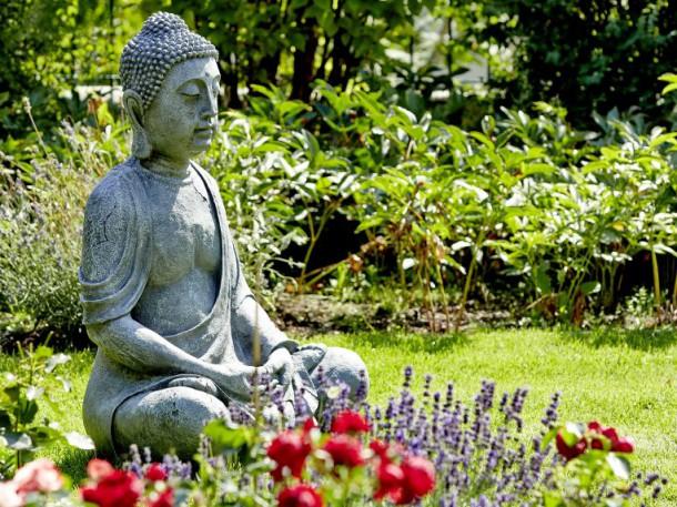 Mediation im Garten, Japanischer Garten,  maketing deluxe, flickr.com