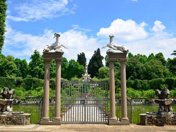Boboli Gardens, Florenz, Italien