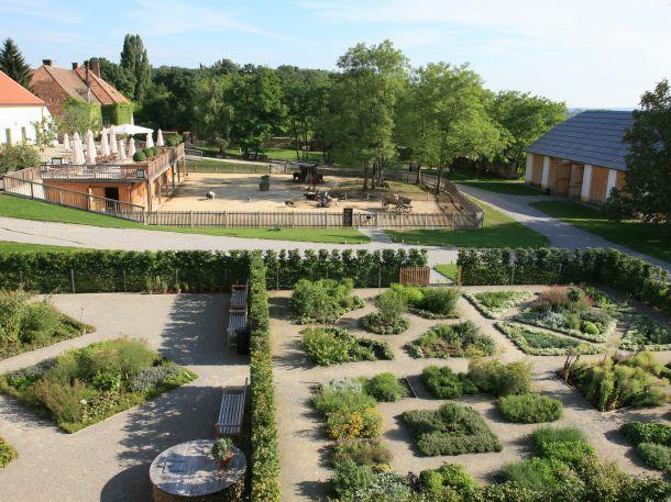 Kräutergarten und Streichelzoo Schloss Hof (c) Schloss Hof