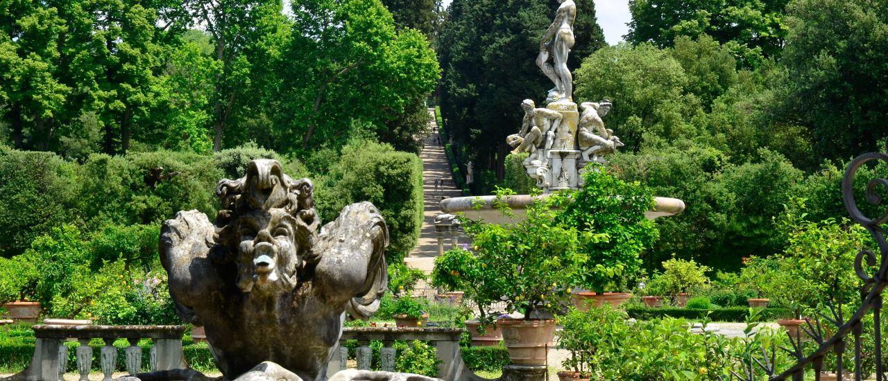 Boboli-Garten, Florenz, Italien