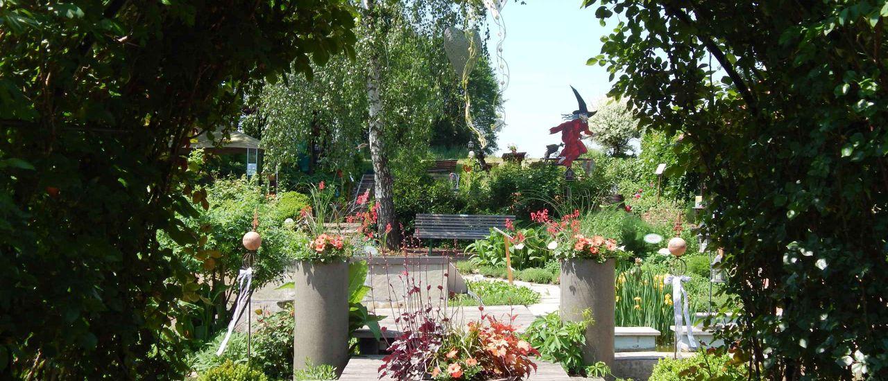 Kräuter-Hexen-Rosengarten, (c) Kräuter-Hexen-Rosengarten