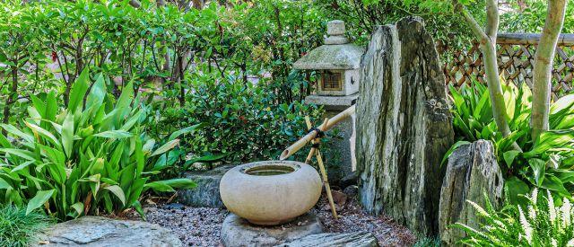 Das Element Wasser im japanischen Garten