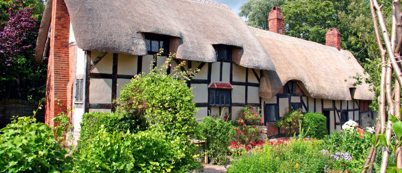 Anne Hathaway's Cottage, Stratford-upon-Avon , England