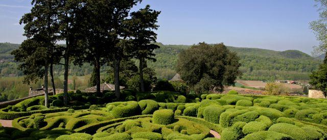 Die Gärten von Marqueyssac , Frankreich