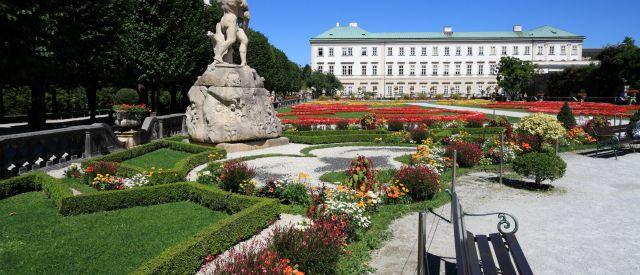 Mirabellgarten, Schloss Mirabell, Salzburg