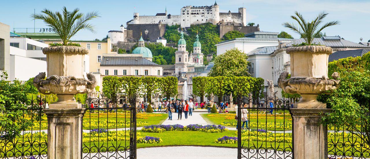 Schloss Mirabell Barockgarten
