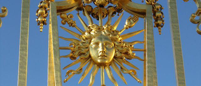 Goldenes Tor in Versailles, Barockgarten Ludwig XIV